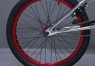 Велосипед BMX 713Bikes FROST R Silver/Red