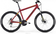 "Велосипед MERIDA MATTS 6.20-MD Matt Red/yellow/black""16"