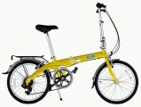 "Велосипед складной Ford By DAHON Convertible Yellow""16"