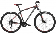 "Велосипед Kross Hexagon 6.0 29er Black Graphite/Red ""18"