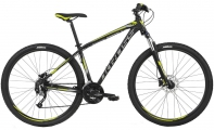 "Велосипед Kross Hexagon 6.0 29er Black Graphite/Lime ""18"