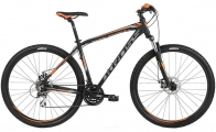 "Велосипед Kross Hexagon 4.0 29er Black Graphite/Orange ""18"