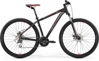 "Велосипед Merida Big Nine 20-MD MattBlack/Silver/Red ""19"
