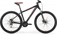 "Велосипед MERIDA Big.Seven 20-D MattBlack/Red/Silver ""19"