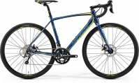 "Велосипед Merida CycloCross 300 Petrol/Yellow/Lite Teal ""19"