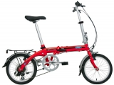 "Велосипед складной Ford By DAHON Convertible Red""16"