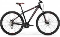 "Велосипед Merida Big Nine 20-D MattBlack/Red/Silver ""19"
