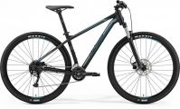 "Велосипед Merida Big Nine 200 MattBlack/Silver/Blue ""19"
