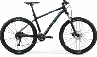 Велосипед MERIDA Big.Seven 200 MattBlack/Silver/Blue