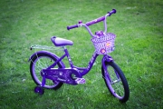 "Велосипед XD-Bike Princess 18"" фиолетовый S10BV"