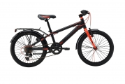 Велосипед MERIDA Dino J20 6 spd Matt Black/red