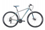 "Велосипед Merida Big Nine 10-MD Silver/Blue ""19"