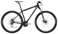 "Велосипед MERIDA BIG NINE 20-D Matt Black/green""16"