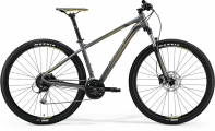 "Велосипед Merida Big Nine 100 Mt.Grey/Yellow/DrkGrey ""18"