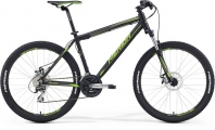 "Велосипед MERIDA MATTS 6.20-MD Matt Black/green""16"
