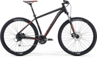 "Велосипед MERIDA BIG NINE 100 Matt Black/signal red/grey""16"